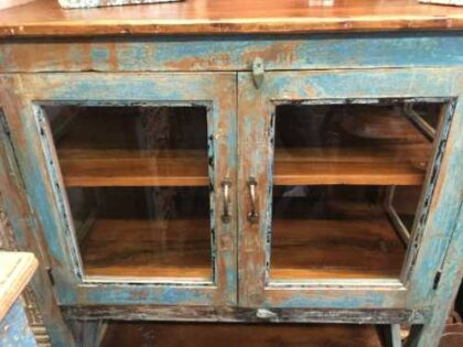 kh19 RS2020 090 indian blue showcase cabinet large close