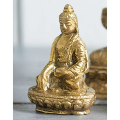 BU20 namaste indian accessory gift brass buddha