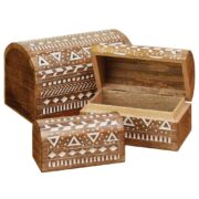 BX200 namaste indian accessory gift mango box aztec set