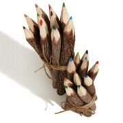 BS2 namaste accessory gifts pencils coloured twig