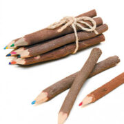 BS2 namaste accessory gifts pencils coloured twig flat