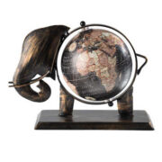 GLOBE1 namaste indian accessory gift globe small iron black