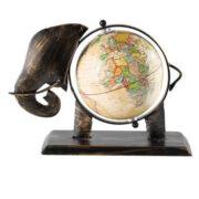 GLOBE1 namaste indian accessory gift globe small iron cream