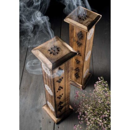 IH30 namaste indian accessory gift incense box diffuser