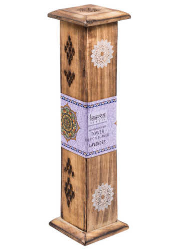 IH30 namaste indian accessory gift incense box diffuser lavender