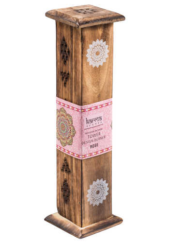 IH30 namaste indian accessory gift incense box diffuser rose