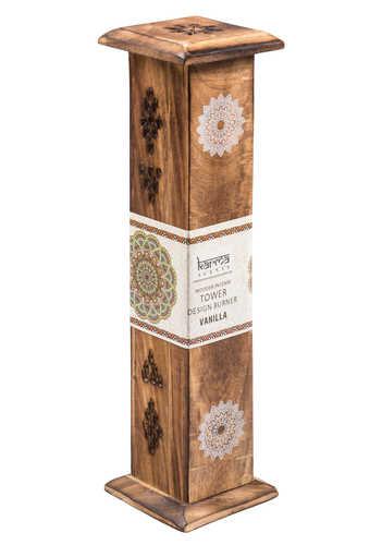 IH30 namaste indian accessory gift incense box diffuser vanilla