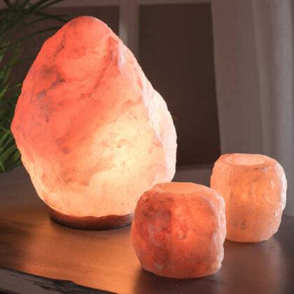 SALT4 namaste indian accessory gift rock salt tea light 2