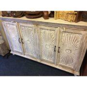 k69 1923 indian furniture sideboard large sunburst main