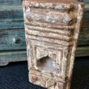 k72 4190 c indian Original Old Stone Niche C Close