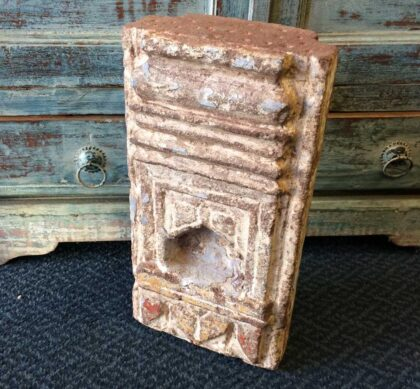 k72 4190 c indian Original Old Stone Niche Main