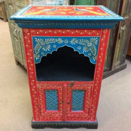k72 9323 Mihrab Arch Small Cabinet Front