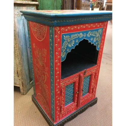 k72 9323 Mihrab Arch Small Cabinet