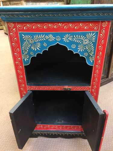 k72 9323 Mihrab Arch Small Cabinet Open