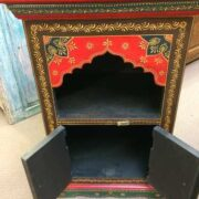 k72 9357 Painted Mihrab Cabinet Open