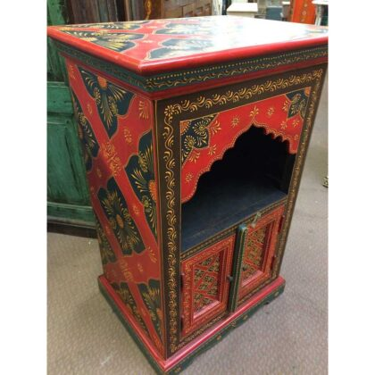 k72 9357 Painted Mihrab Cabinet