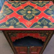 k72 9357 Painted Mihrab Cabinet Top