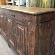 k72 544 indian furniture sideboard slim reclaimed side