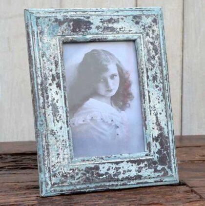 kh12 m 9220 indian photo frame wooden angled
