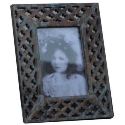 kh12 m 9223 indian photo frame lattice angled