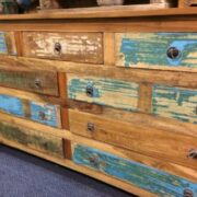 kh16 RS18 60 indian furniture sideboard drawers storage reclaimed right close