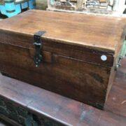 kh18 001 C indian furniture trunk vintage teak main