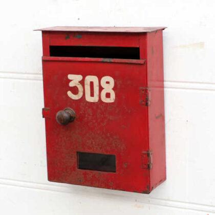 kh18 021 indian original red letterboxes metal main