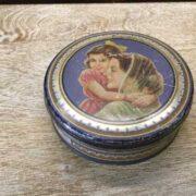 kh18 023 indian furniture original vintage tins advertising morton
