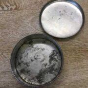 kh18 023 indian furniture original vintage tins advertising morton open