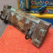 kh18 032 indian furniture hooks carved panel A