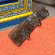 kh18 032 indian furniture hooks carved panel E