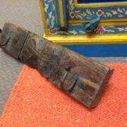 kh18 032 indian furniture hooks carved panel F