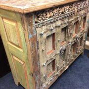 kh18 081 indian furniture sideboard tall reclaimed left