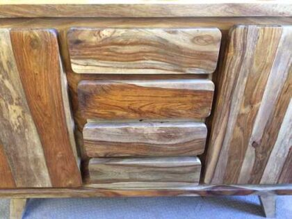 k70 1931 indian furniture sideboard sheesham 4 drawer centre