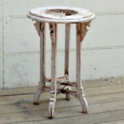 kh19 RS2020 010 indian furniture side table planter white side