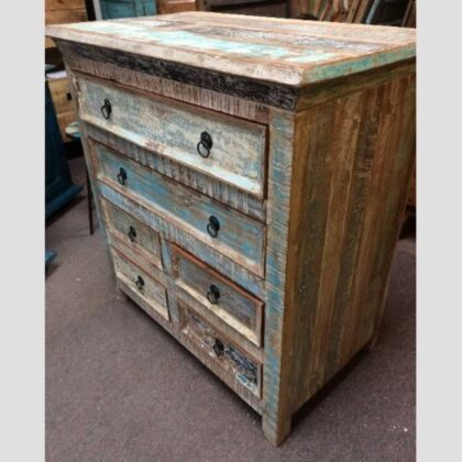 k73 40208 indian furniture pastel chest of drawers main