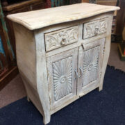k74 70 indian furniture sideboard small curvy white main