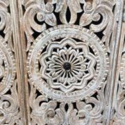 k74 72 indian furniture carved white sideboard large intricate close