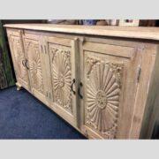 k74 79 indian furniture large carved sideboard white main