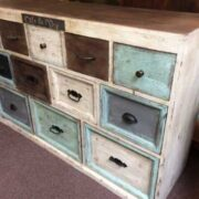 kh10 m 8133 indian furniture chest shabby right