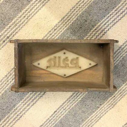 k73 2474 indian accessorory brick mould vintage single 8