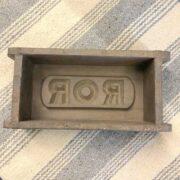 k73 2474 indian accessorory brick mould vintage single 5