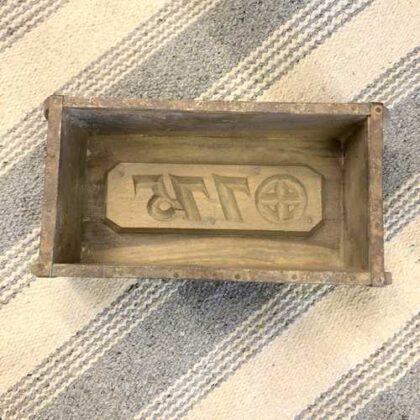 k73 2474 indian accessorory brick mould vintage single 3