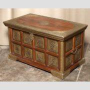 k73 3646m indian furniture trunk sheesham embossed persian main