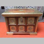 k73 3646s indian furniture trunk storage small persian embossed main