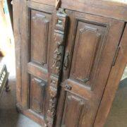 k74 80 indian accessories wall door frame teak right