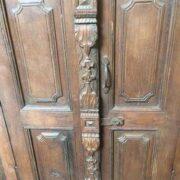k74 80 indian accessories wall door frame teak close