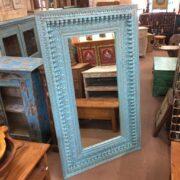 k74 100 indian furniture mirror nodule blue large main