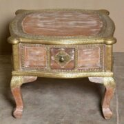 k74 61 indian furniture coffee table unusual 4 side drawers main