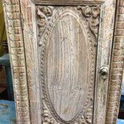 k74 78 indian furniture small old cabinet carved door door